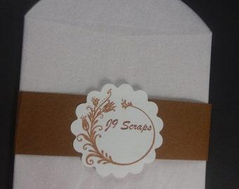 Glassine Envelope 4 in x 4 in
