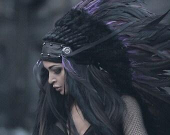 Indian headdress - Ink Night IV