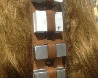 Chewbacca Bandolier Large Aluminum Boxes (set of 10)