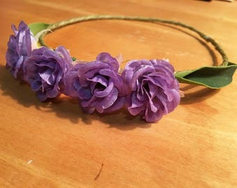 Child's Floral Head Piece