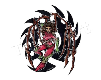Kerrigan Starcraft Original - A4