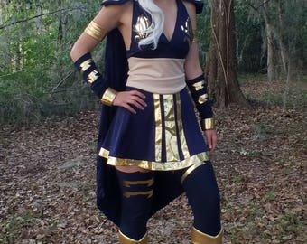 Ashe from League of Legends Full Cosplay - League of Legends Cosplay - Ashe - Ashe Costume Commission - League of Legends Cosplay