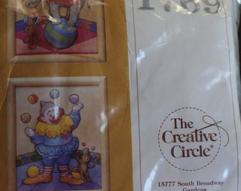 Creative Circle Circus Needlepoint  #1769