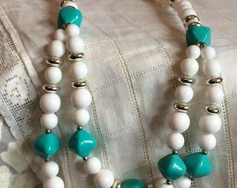 Genuine Lucite Adjustable Necklace