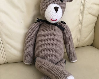 Handmade Crocheted Teddy