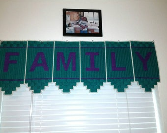 Family Window valance