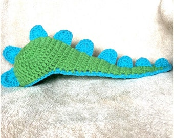 Baby Dinosaur Hat with Cape