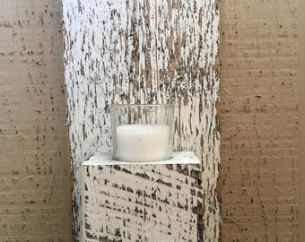 Wall sconce/ candle holder