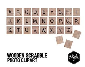 Scrabble Alphabet Etsy