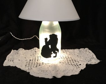 Beauty and The Beast lighted accent lamp.