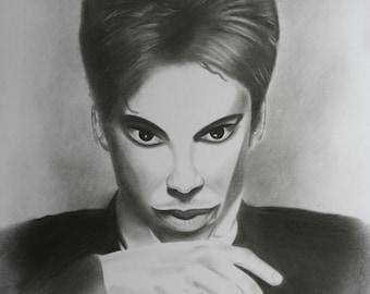 Prince Original Fine Art Drawing by Artist