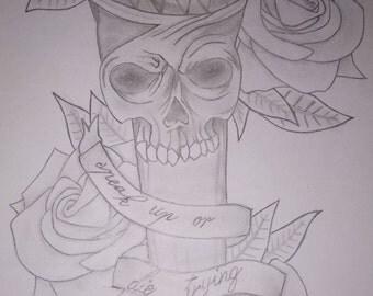 Skull Mic design