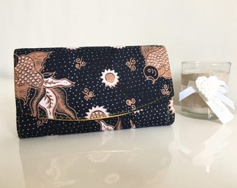 Portfolio * cover * wallet * Batik Indonesia handmade