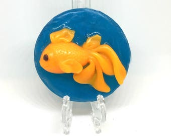 The Pet Goldfish - Orange goldfish soap