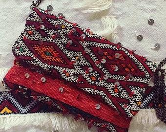 Moroccan Clutch, Moroccan Bag, Boho Clutch, Gypsy Bag, Vintage clutch, Marrakesh Bag, Berber Bag, Kilim Bag, Coachella Clutch