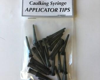 Finish Line Caulking Syringe 16 Gauge Plastic Tips