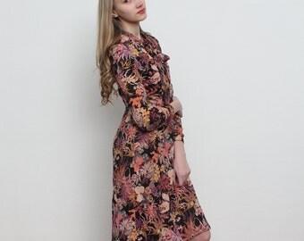 Vintage Multi Color Dress