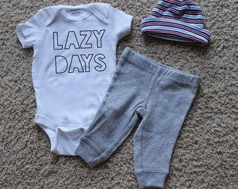 Lazy Days Onesie