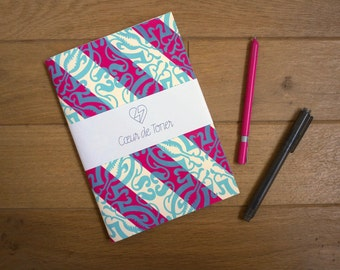 Large notebook silkscreen Obliques