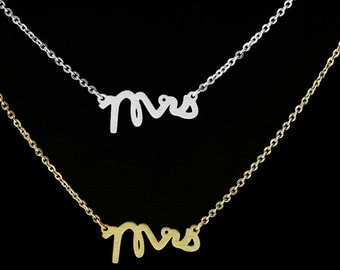 I'm A Mrs. Necklace
