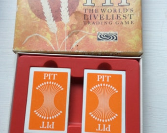 Pit. The liveilest game ever. Vintage card game.
