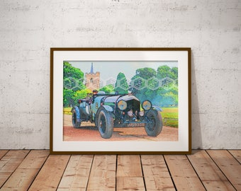 Digital Download, Classic Car Printable, by Kendrick Reed
