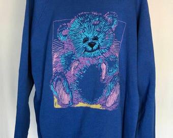 Vintage Teddy Bear Sweatshirt