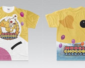 FINAL FANTASY XV Moogle Chocobo Carnival Shirt