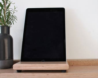 ipad Stand - Tablet Stand - Wooden ipad Holder - Wooden Tablet Holder