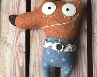 Handmade Dog SoftToy