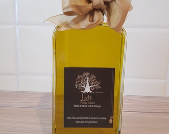 Greek Premium Extra Virgin Olive Oil sold directly from a producer 500ml glass bottle