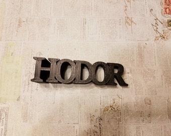 Game of Thrones Hodor Door Stop - Hold the Door! 3D Printed