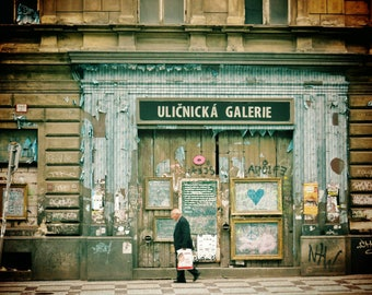 Holešovice Prague Print, Prague Photo, Prague Photography, City Photography, Street Photography, City Print, Prague Street, Prague Wall Art
