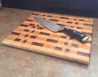 Cutting Board; Cherry, Maple, Walnut