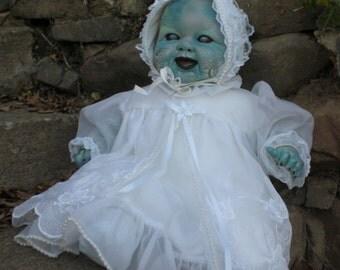 OOAK Horror Zombe, Walking / Living Dead baby dolls.