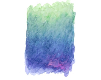 16 x 20 Print - COLOR #18 - Abstract Minimalist Watercolor Print