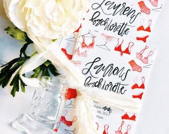 Printable Bachelorette Party Invitations | Lingerie