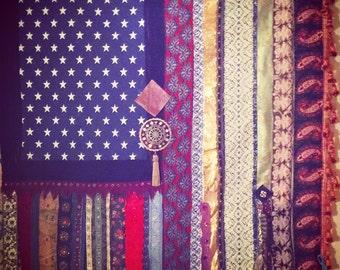 Zen Bohemian American Flag Handmade