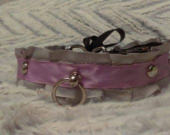 Silver Lining* Kitten Play Collar