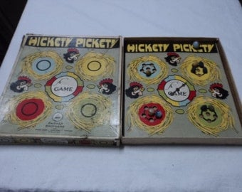 Vintage Hickety Pickety Game Parker Brothers