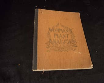Vintage Leaf Collection Scrapbook ca 1894
