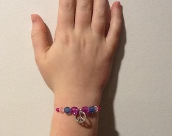 Rainbow Peace Bracelet