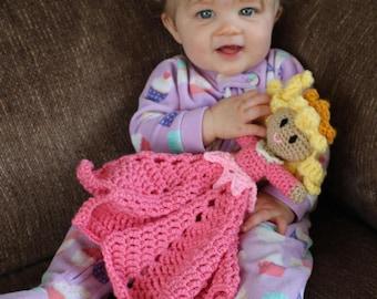 Crochet Sleeping Beauty Blanket