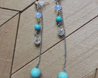 Josie's Turquoise Dangle Earrings
