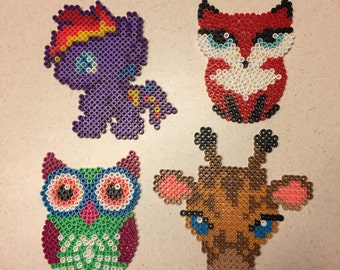 Cute Animal Lover Perler Art Single Choice