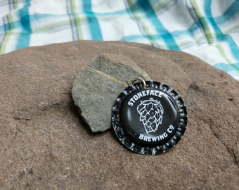 Bottle Cap Pendant - Stoneface Brewing Co.