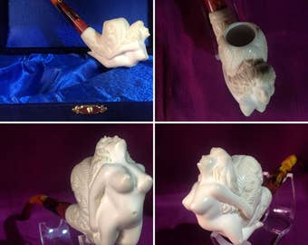 meerschaum pipe handicraft