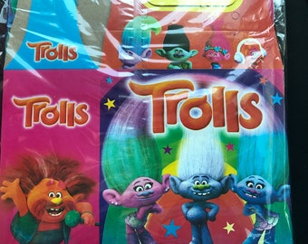 Trolls Treat Favor Boxes---10 Count