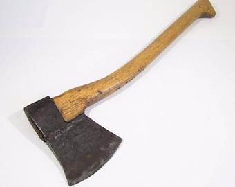 antique axe Hatchet blacksmith's work