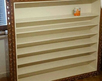 frame craft style bookcase